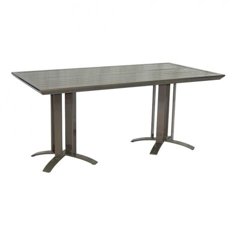 Moderna Rectangle Dining Table- 64 Inch