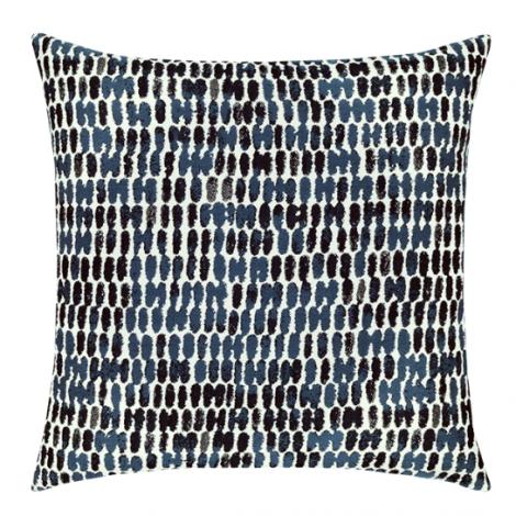 Thumbprint Indigo Throw Pillow