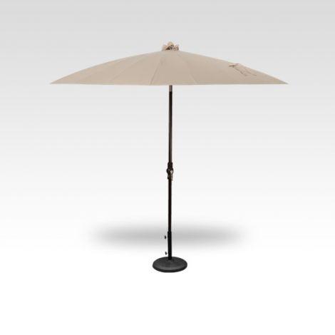 10' Shanghai Auto Tilt Umbrella - Khaki