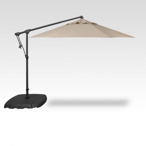 10' Octagon Cantilevered Umbrella - Khaki