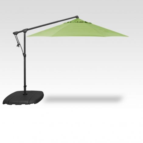 10' Octagon Cantilevered Umbrella - Kiwi