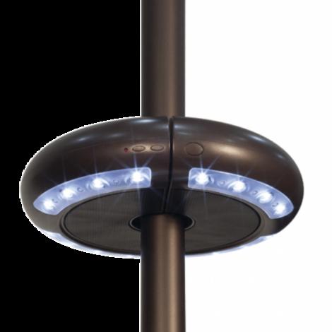 Large bluetooth umbrella speaker with LED light