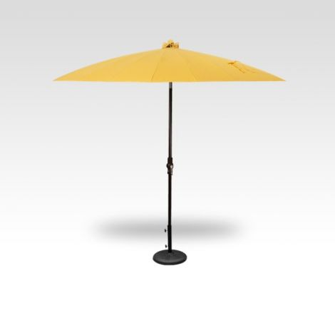 10' Shanghai Auto Tilt Umbrella - Lemon