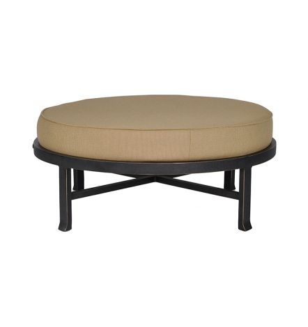 Madrid Cushion Round Ottoman