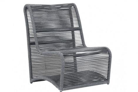 Milano Armless Club Chair