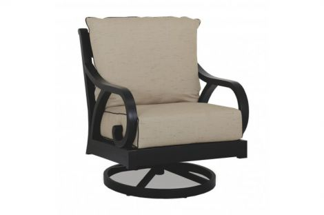 Monterey Swivel Rocker Club Chair