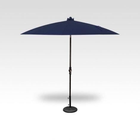 10' Shanghai Auto Tilt Umbrella - Navy