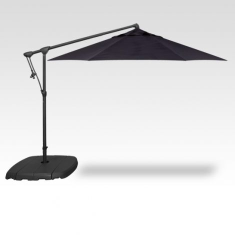 10' Octagon Cantilevered Umbrella - Navy