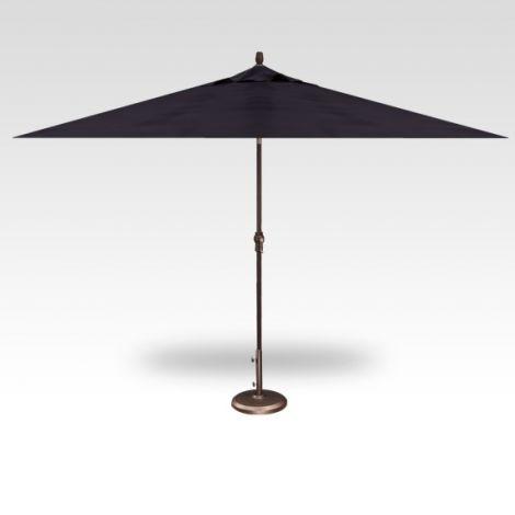 8' x 10' Auto Tilt Umbrella - Navy