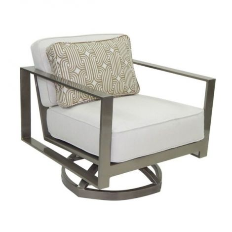 Park Place Cushion Lounge Swivel Rocker