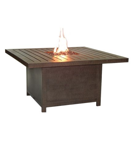 Moderna Square Firepit Coffee Table - 44 Inch