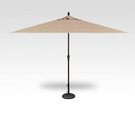 8' x 10' Auto Tilt Umbrella - Ridge Beach