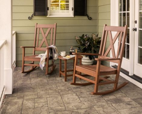Braxton 3-Piece Rocking Chair Set