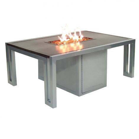 Icon Rectangular Firepit Coffee Table - 50 Inch