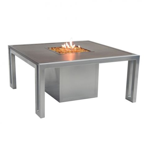 Icon Square Firepit Coffee Table - 44 Inch