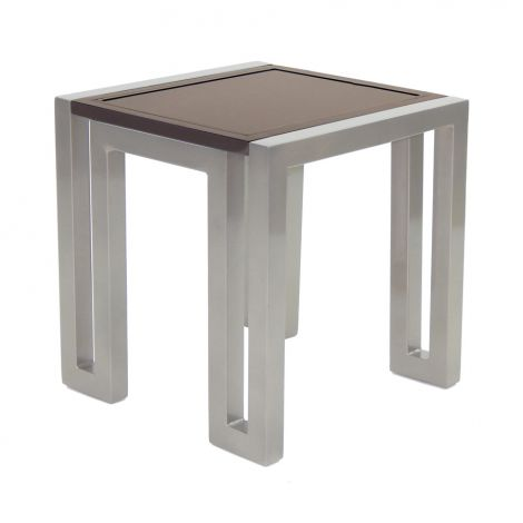 Icon Square Side Table - 21 Inch