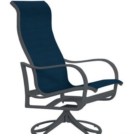 Sling Back Chairs, Swivel Rocker
