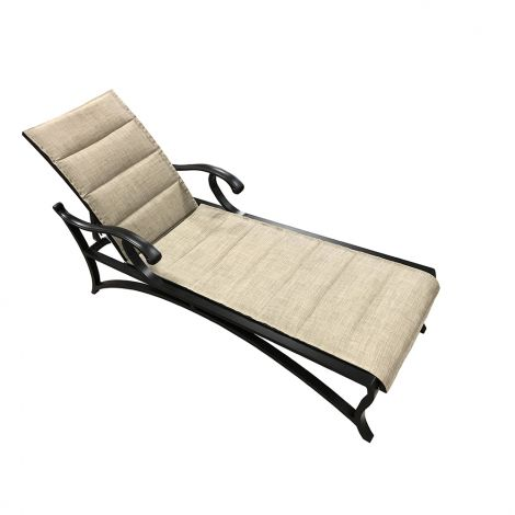 Volare Padded Sling Chaise Lounge