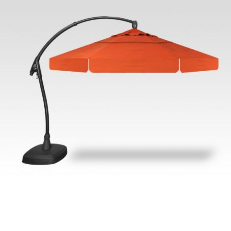 11' Arch-Design Octagon Cantilevered Umbrella - Sunset