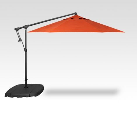 10' Octagon Cantilevered Umbrella - Sunset