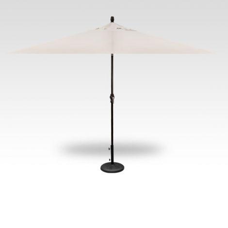 8' x 10' Auto Tilt Umbrella - Vanilla