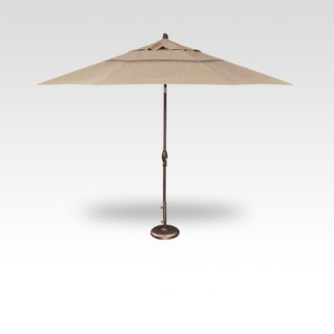 11' Auto Tilt Market Umbrella - Ridge Beach