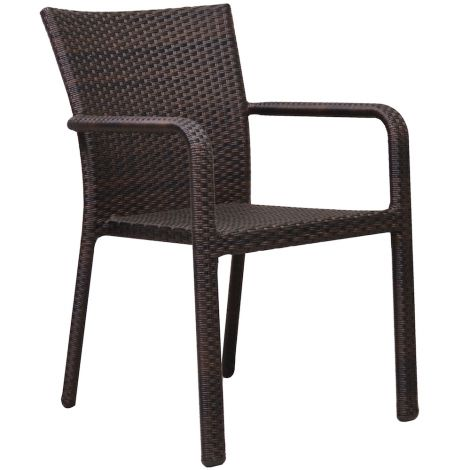 Napa Wicker Bistro Chair