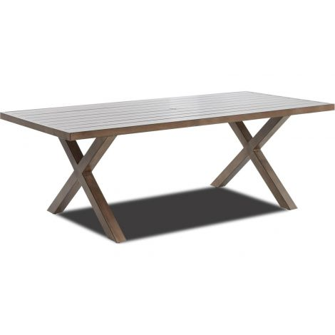 "Mesa 86""x 41"" Rectangle Dining Table"
