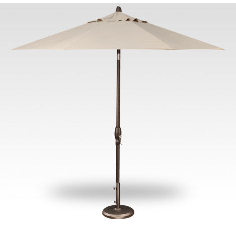 Button Tilt Market Umbrella - Champagne