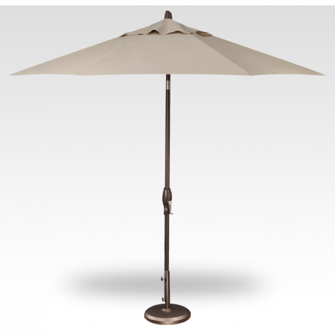Button Tilt Market Umbrella - Khaki