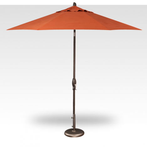 Button Tilt Market Umbrella - Sunset