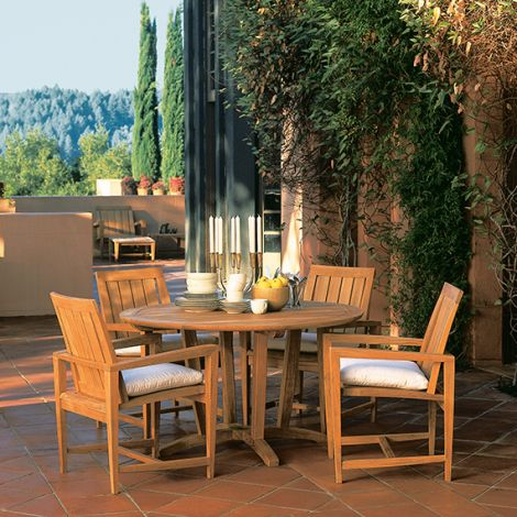 "Amalfi 50"" Rd. Dining T able"