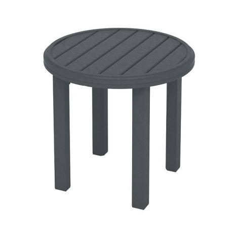 """Amici 24"""" Round End Table"""