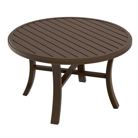 "Banchetto 42"" Rd Chat Table"