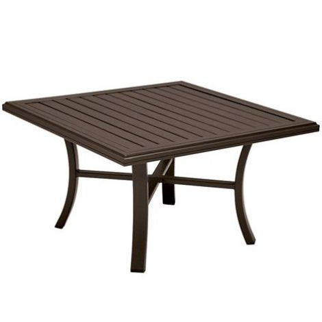 "Banchetto 42"" Sq Chat Table"