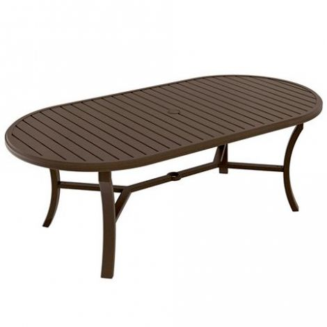 """Banchetto 84"""" x 42"""" Oval Dining Table"""