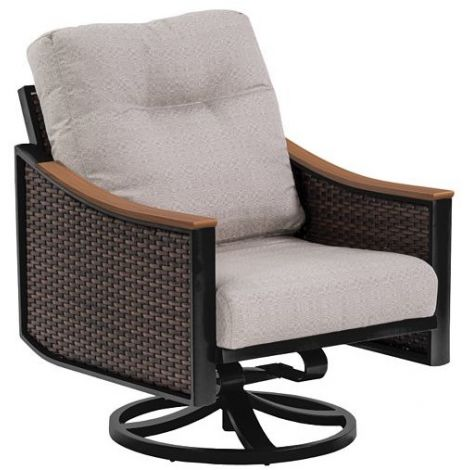 Brazo Woven Swivel Lounge Rocker