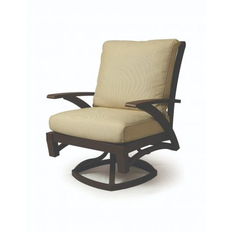 Barletta Swivel Rocker Dining Chairs