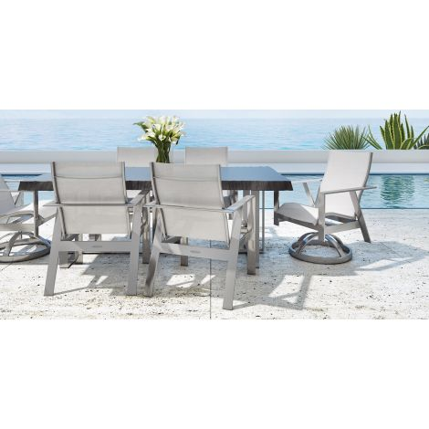 Trento 7-Piece Sling Dining Collection
