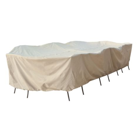 Large Oval Table & Chairs Cover