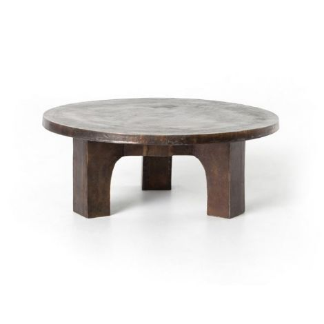 "Swirl 38"" Round Coffee Table"