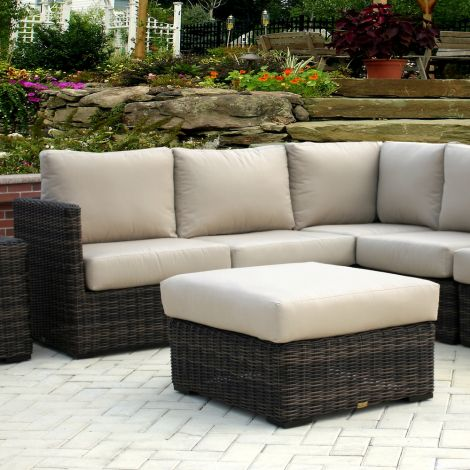 Prescott Wicker Sectional