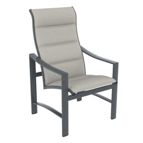 Kenzo Padded Sling High Back Dining Chair