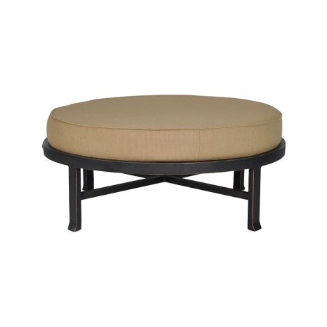 Madrid Cushion Round Ottoman