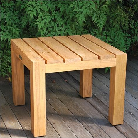"Mendocino 22.5"" Sq. Side Table"