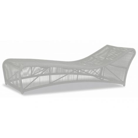 Miami Cushionless Chaise Lounge