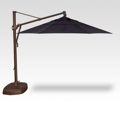 11' Plus Octagon Cantilevered Umbrella -Navy