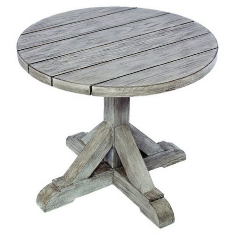 """Provence 24"""" Rd. Side Table"""