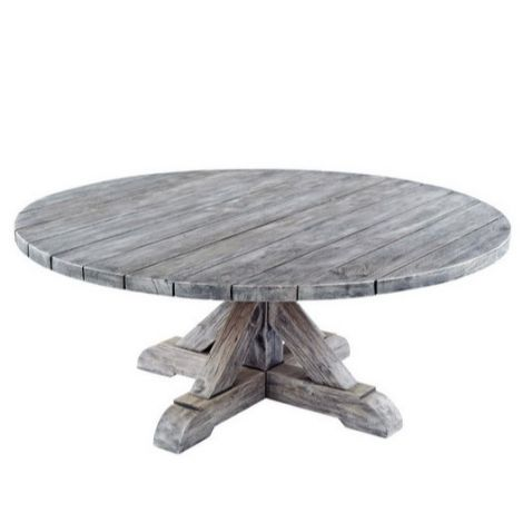 "Provence 42"" Rd. Coffee Table"