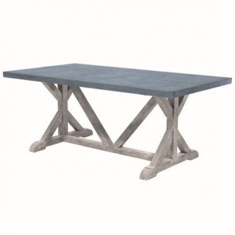 "Provence 73"" x 39"" Rect. Farmhouse Table"